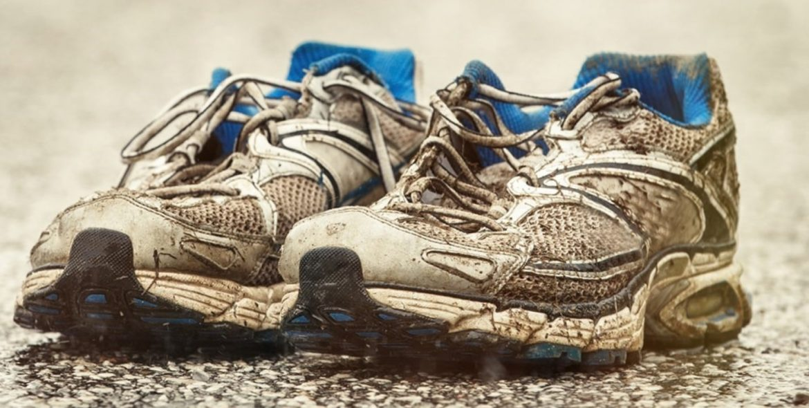 replace old running shoes